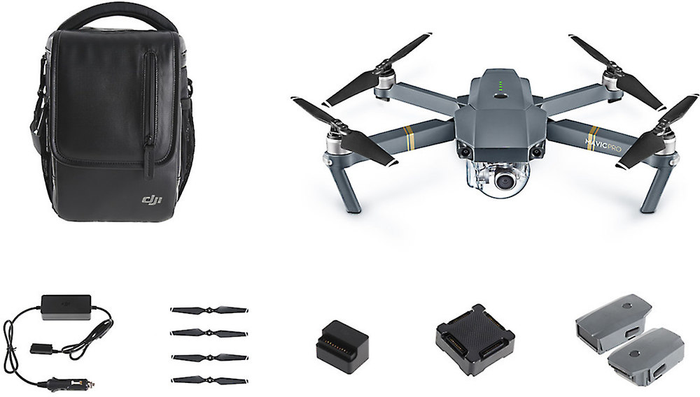 x964MAVPFMC F 1 dji mavic pro quadcopter fly more combo aerial drone with gimbal  at reclaimingppi.co