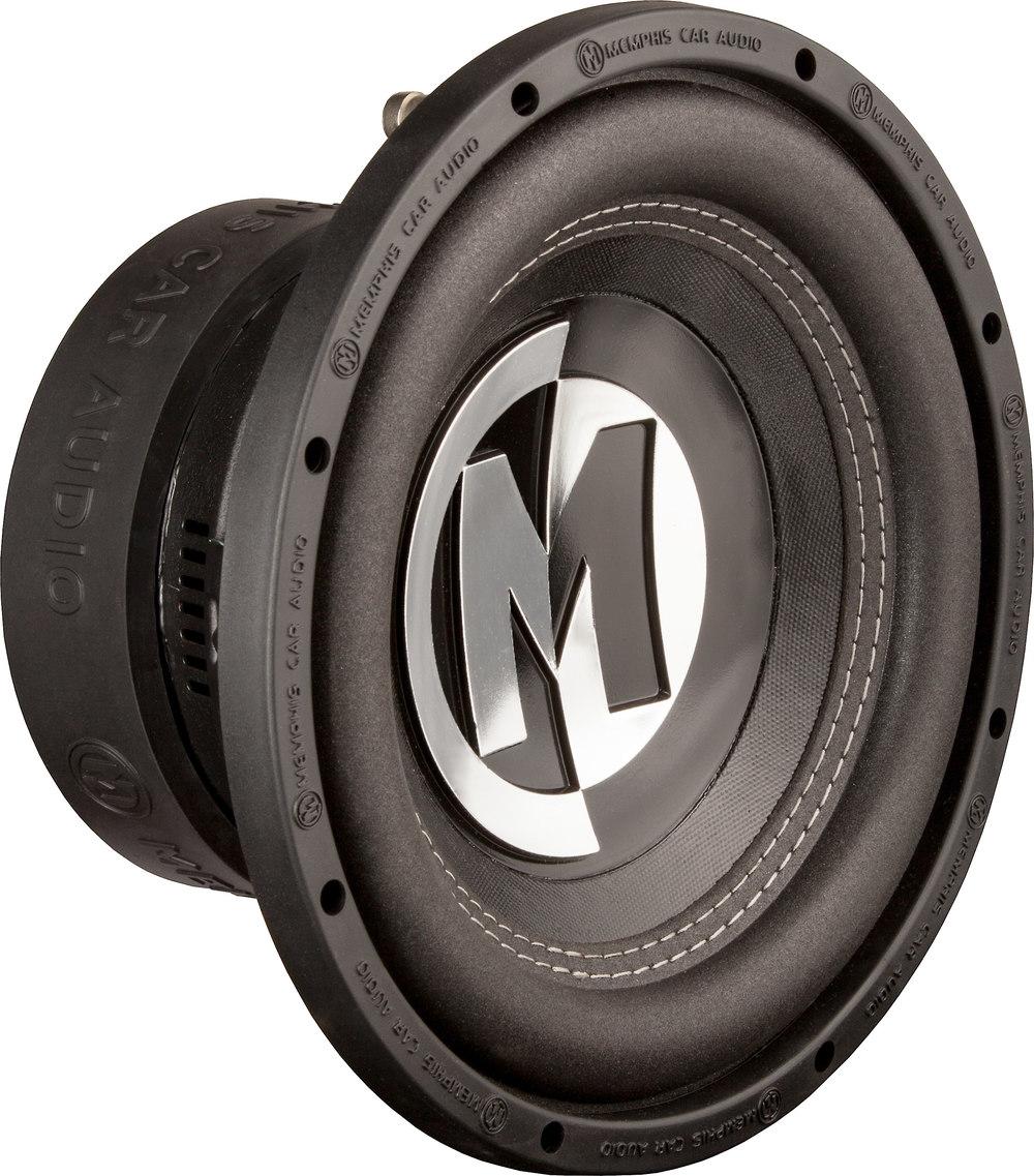 """Memphis Br15d4 15 Sub 800w Car Audio Dual 4 Ohm Subwoofer: Memphis Audio 15-PRX10D4 10"""" Dual 4-ohm Voice Coil"""
