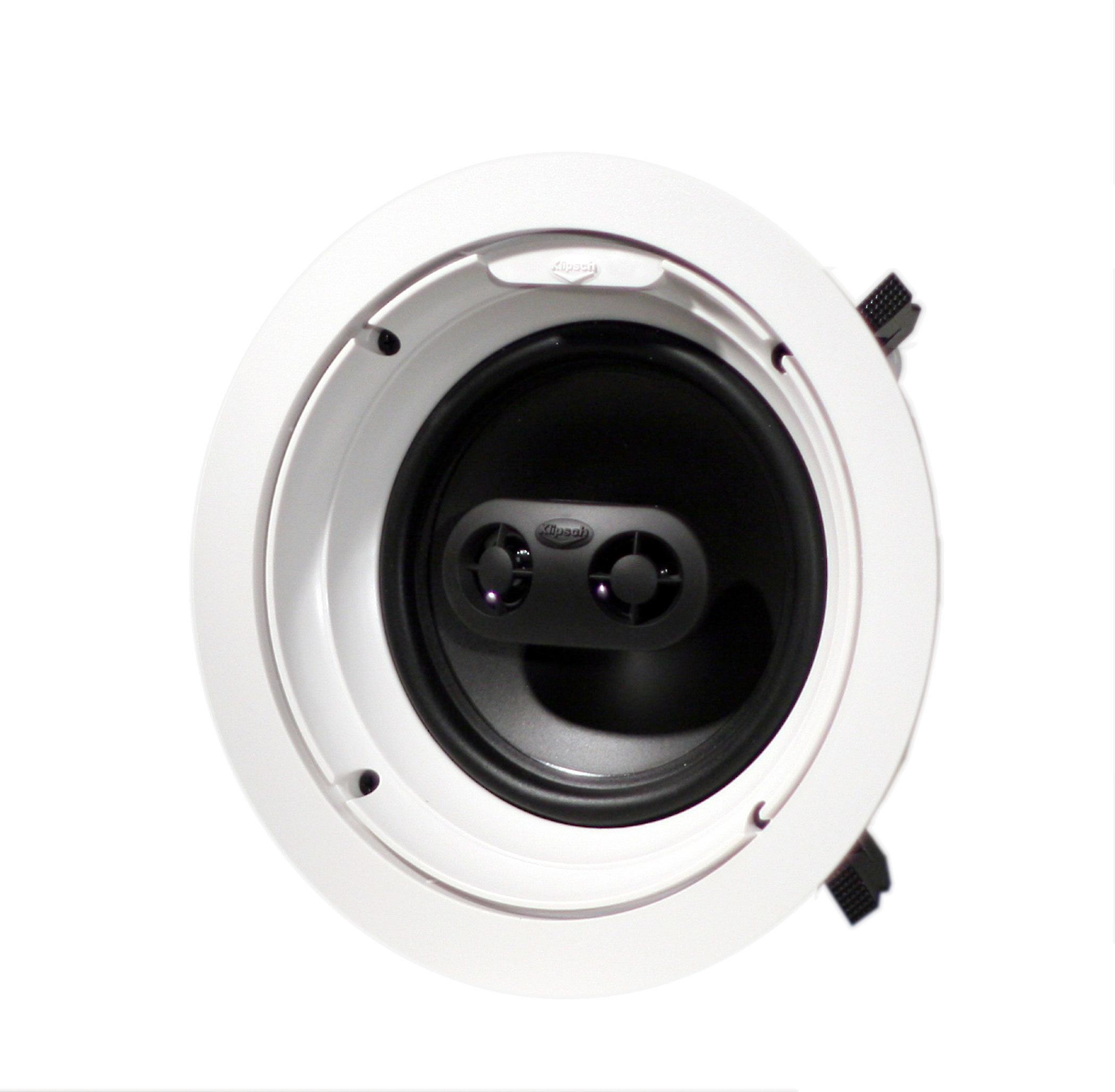 Klipsch R-1650-CSM In-ceiling stereo input speaker at Crutchfield