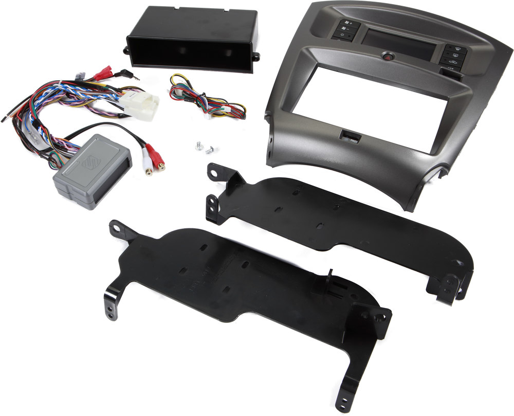 Scosche Ls2151b Dash Kit Black Allows You To Install And Connect A Wiring Harness 1999 Toyota New Single Or Double Din Car Stereo In Select 2006 15 Lexus Is Models At Crutchfield