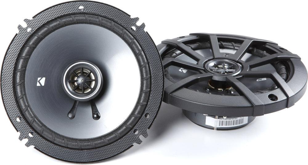 """Kicker 43CSC654 6-1/2"""" 2-way Car Speakers At Crutchfield.com"""