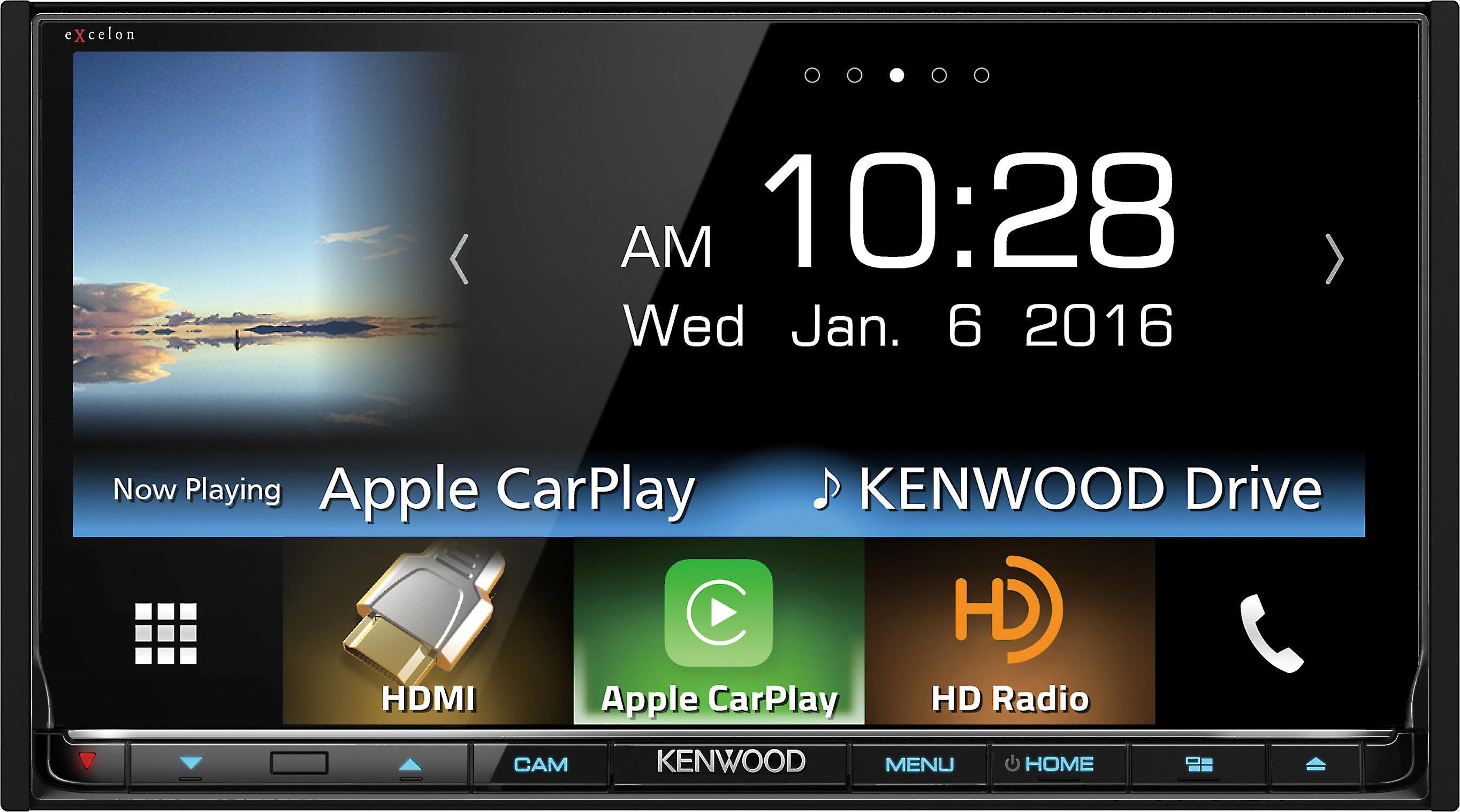 Kenwood Excelon DDX9903S on