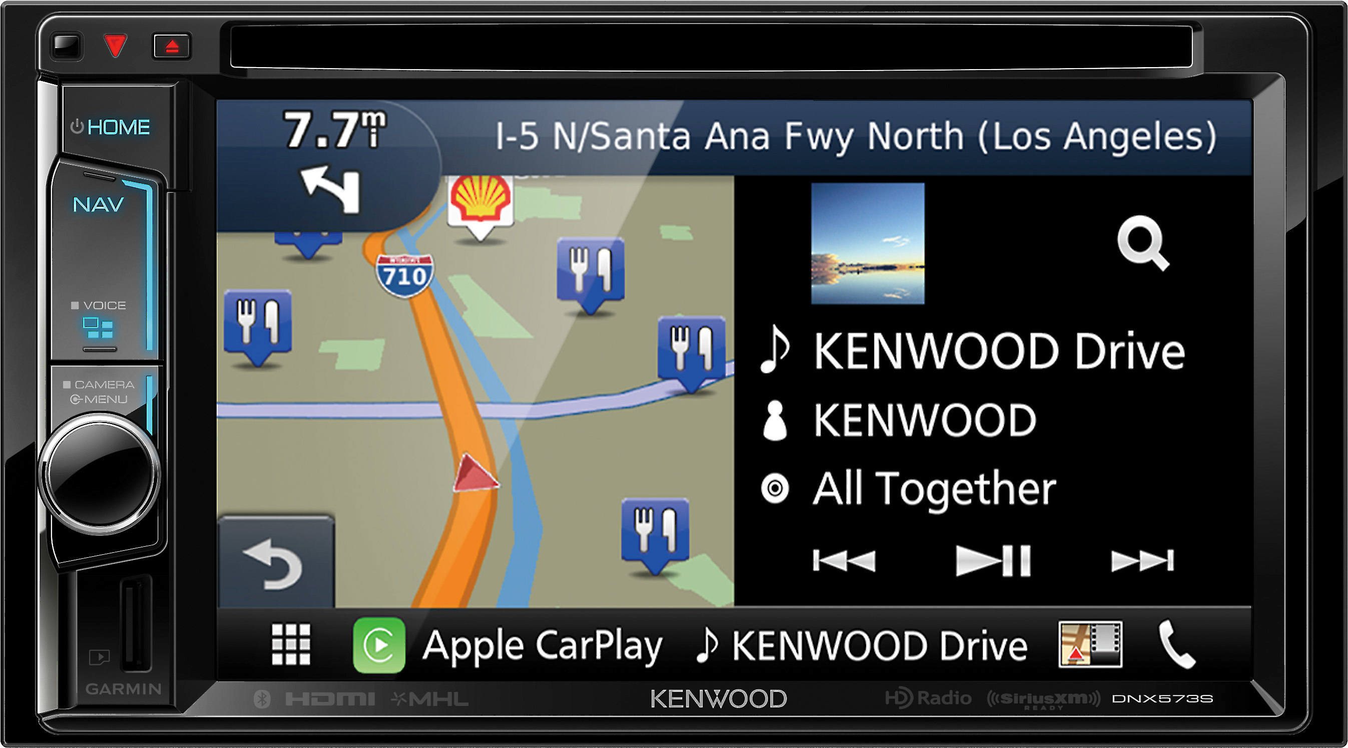 Em Kenwood Dnx573S Navigation Receiver — ZwiftItaly