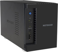 Netgear RS212 Network Attached Storage  (NAS)