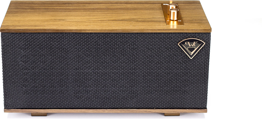 klipsch wireless speakers. klipsch the one (walnut) portable bluetooth® speaker at crutchfield.com wireless speakers