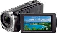 "Sony HDRCX455/B Camcorder, Black  3"", Wi-Fi, NFC, CMOS"