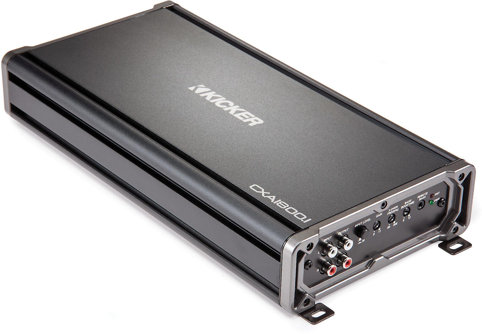 Kicker 43CXA1800.1 CX Series mono subwoofer amplifier — 1800 watts on kicker l7 motor, kicker dvc 8 wiring 2 ohms, kicker cvr wiring, kicker wiring specs, kicker cvx subwoofer diagram, kicker comp vr wiring, kicker l7 manual, kicker dx250.1 wiring, srt-4 kicker sub wire diagram, kicker l7 speaker, kicker solo-baric l7 15 specs, kicker solo-baric 15 diagram, kicker dvc wiring-diagram, kicker l7 connectors, kicker l7 system, kicker l7 dimensions, kicker l7 specifications, kicker l7 power,