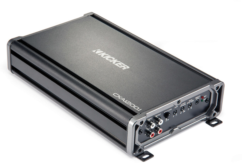 x206CXA1200 F kicker 43cxa1200 1 cx series mono subwoofer amplifier 1200 watts Kicker Flat Subwoofers at nearapp.co
