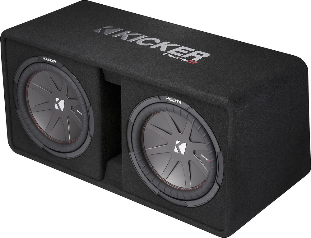 X Dcwr F on 10 Inch Kicker Subwoofers