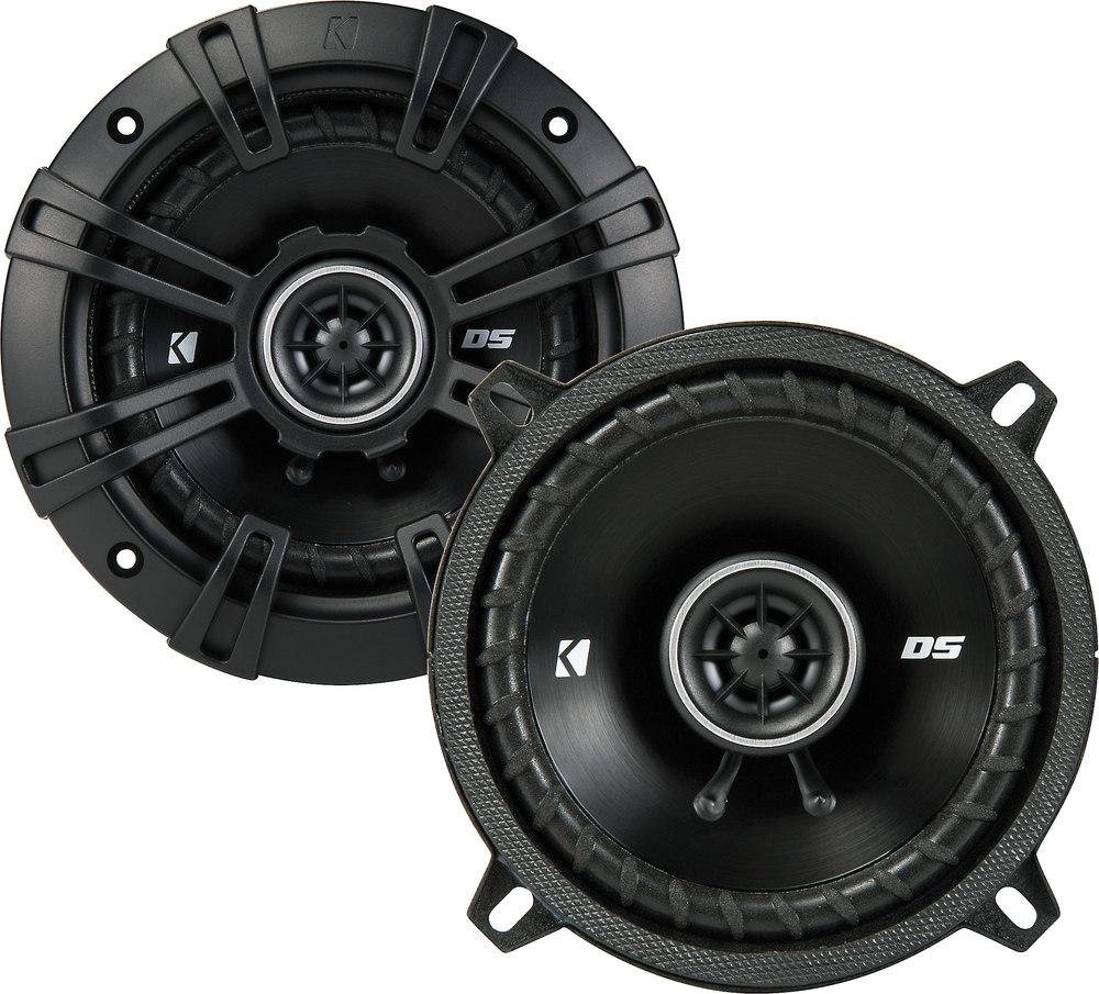 Kicker 43dsc504 Ds Series 5 1 4 2 Way Car Speakers At 2002 Jeep Liberty Subwoofer Enclosure
