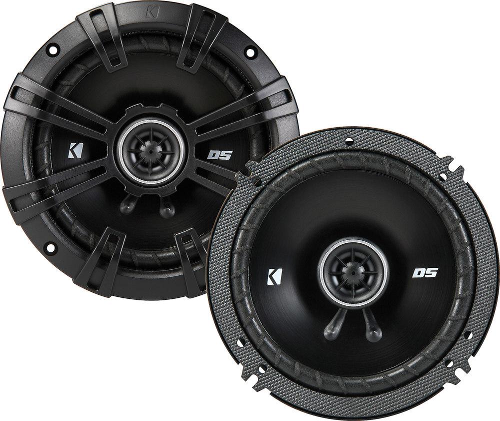 Kicker 43dsc6504 Ds Series 6 1 2 Way Car Speakers At Jeep Wrangler Factory Radio