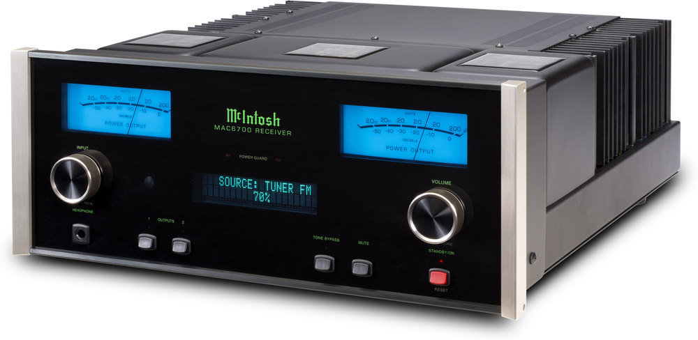 mcintosh mac6700 stereo receiver at crutchfield com