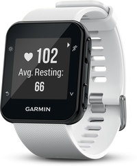 Garmin Forerunner 35  GPS Running Watch - White