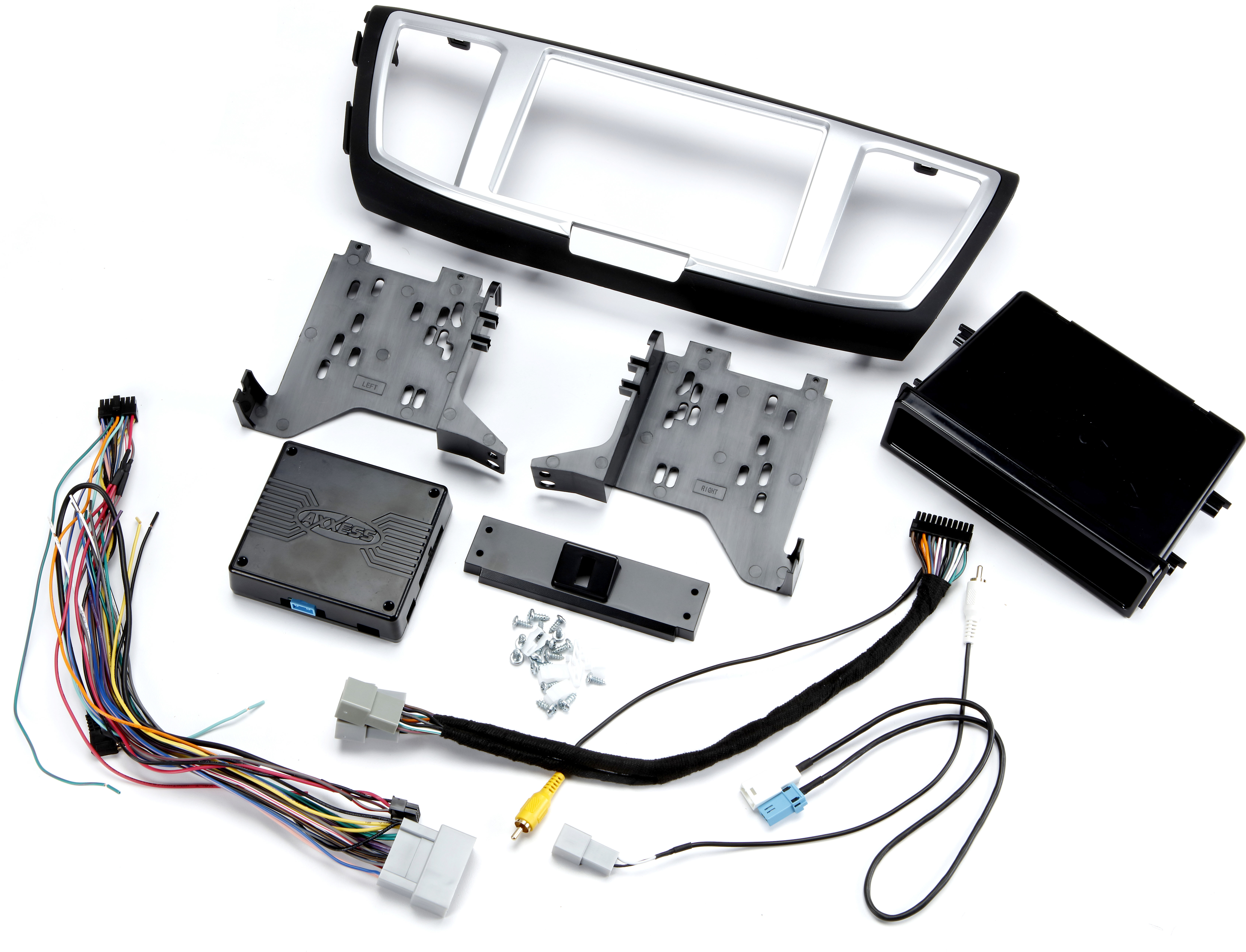 Metra 99-7804 Dash and Wiring Kit (Matte black/silver)
