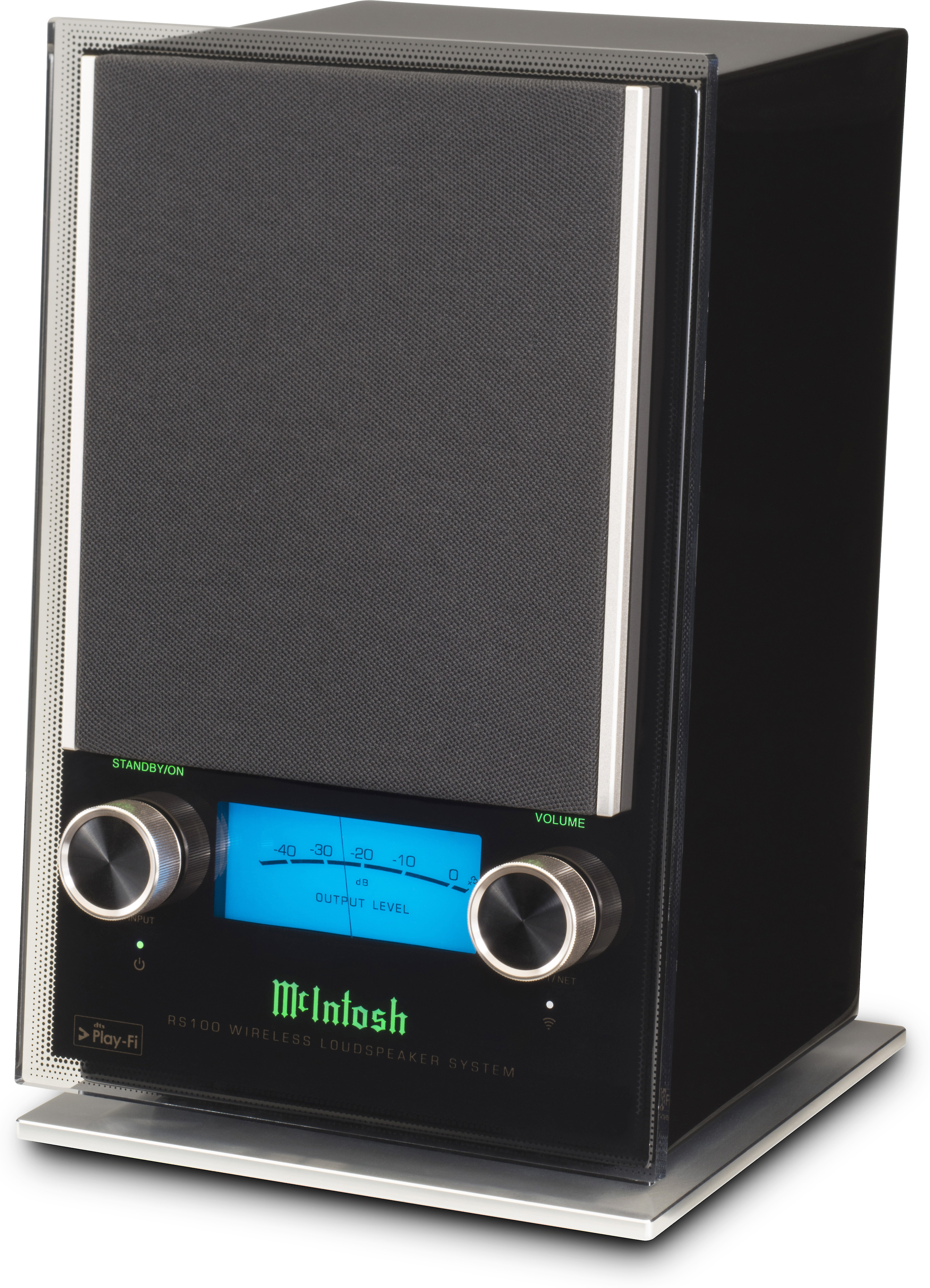 1a86d119c49 McIntosh RS100 Wireless loudspeaker system with built-in Wi-Fi® and DTS  Play-Fi® at Crutchfield.com