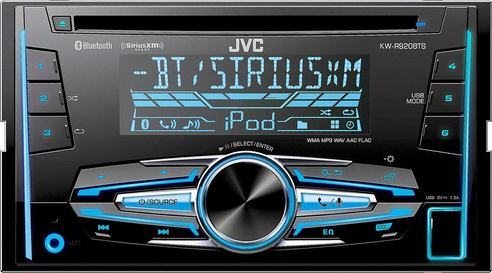 JVC KW-R920BTS CD receiver at Crutchfield.com