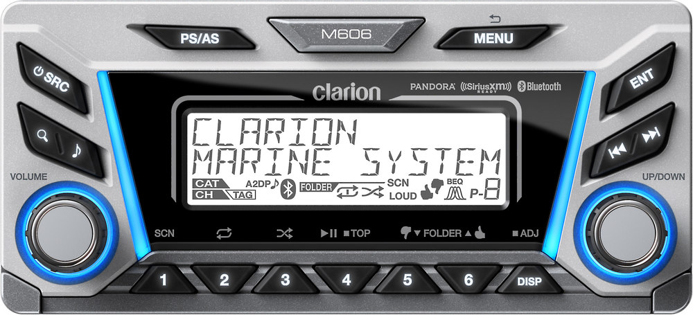 x020M606 F clarion m606 multi zone marine digital media receiver with clarion cms5 wiring diagram at reclaimingppi.co