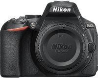 Nikon D5600 DX-Format Digital DSLR Body Only  Black, 24.2...