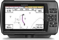 "Garmin Striker 7sv  7"" Fishfinder with ClearVu/SideVu Sonar"