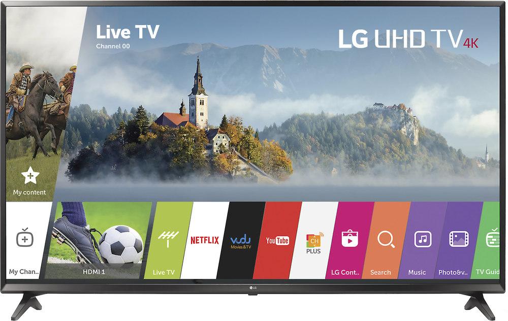 Lg 65uj6300 65 Smart Led 4k Ultra Hd Tv With Hdr 2017 Model At