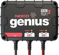 NOCO Genius GENM2  2-Bank 8 Amp On-Board Battery Charger