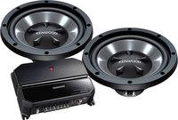 Kenwood P-W1221  Amplifier/Subwoofer Package