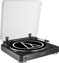 Audio-Technica AT-LP60BK-BT  fully automatic turntable wi...