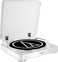 Audio-Technica AT-LP60WH-BT  fully automatic turntable wi...