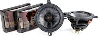 """Illusion Audio Carbon C4 CX  4"""" 2-way Speakers"""
