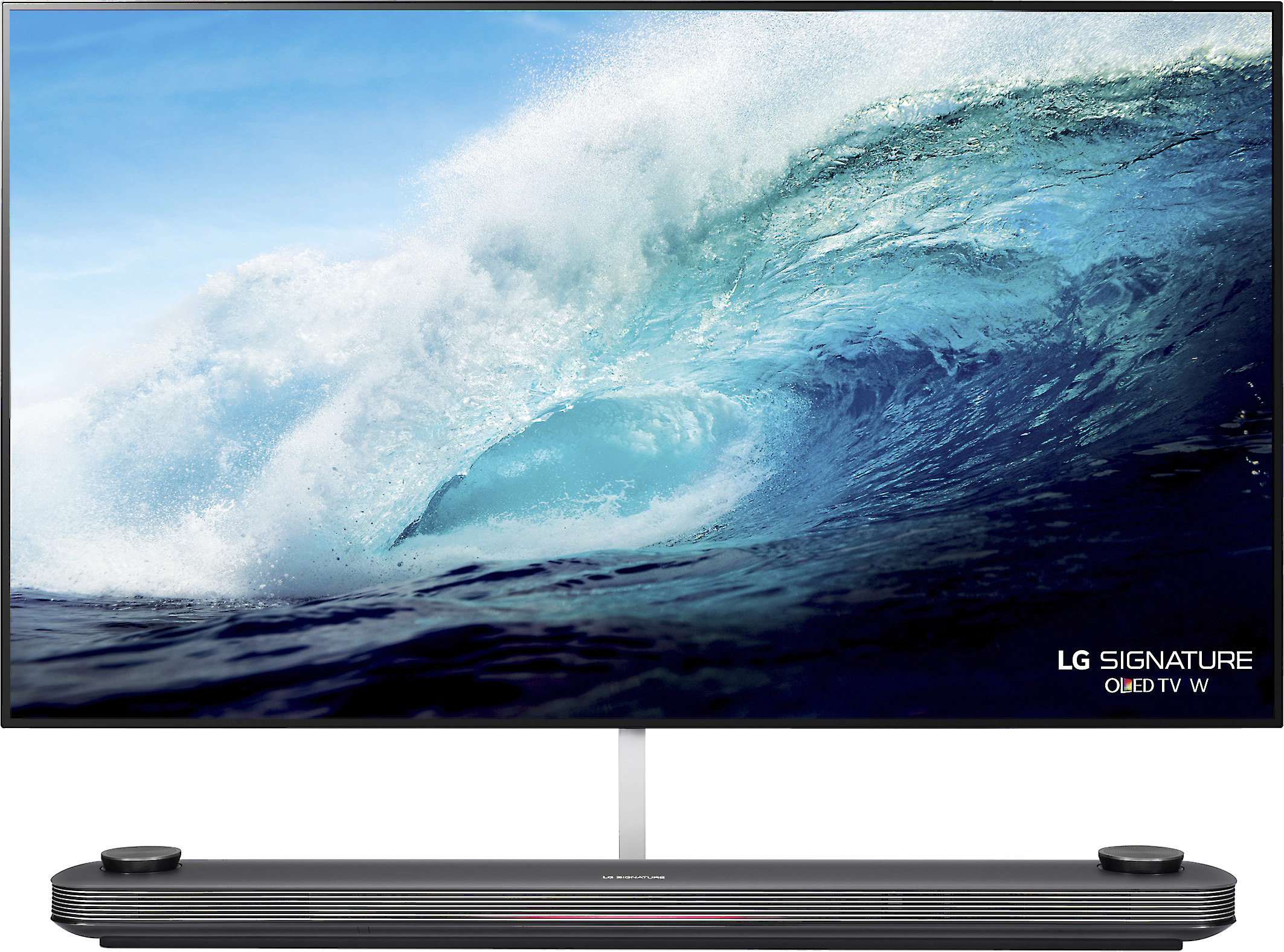 Lg Signature Oled65w7p Wallpaper Tv 65 Smart Oled 4k Ultra Hd Tv With Hdr 2017 Model At Crutchfield