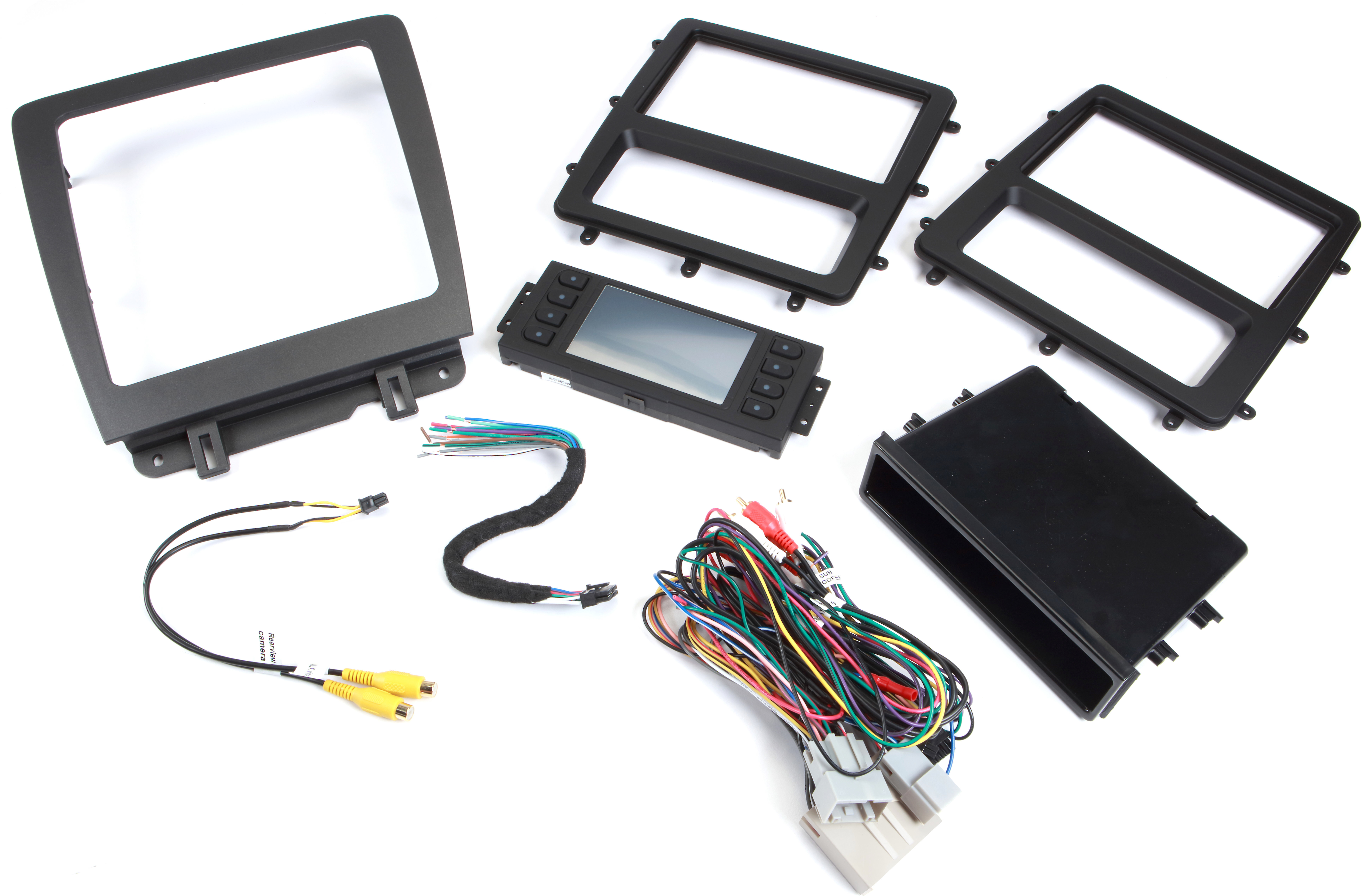 Metra 99-5839CH Dash and Wiring Kit (Gray/Black) Install and connect on