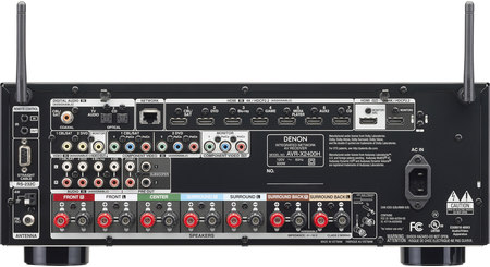 Denon AVR-X2400H IN-Command