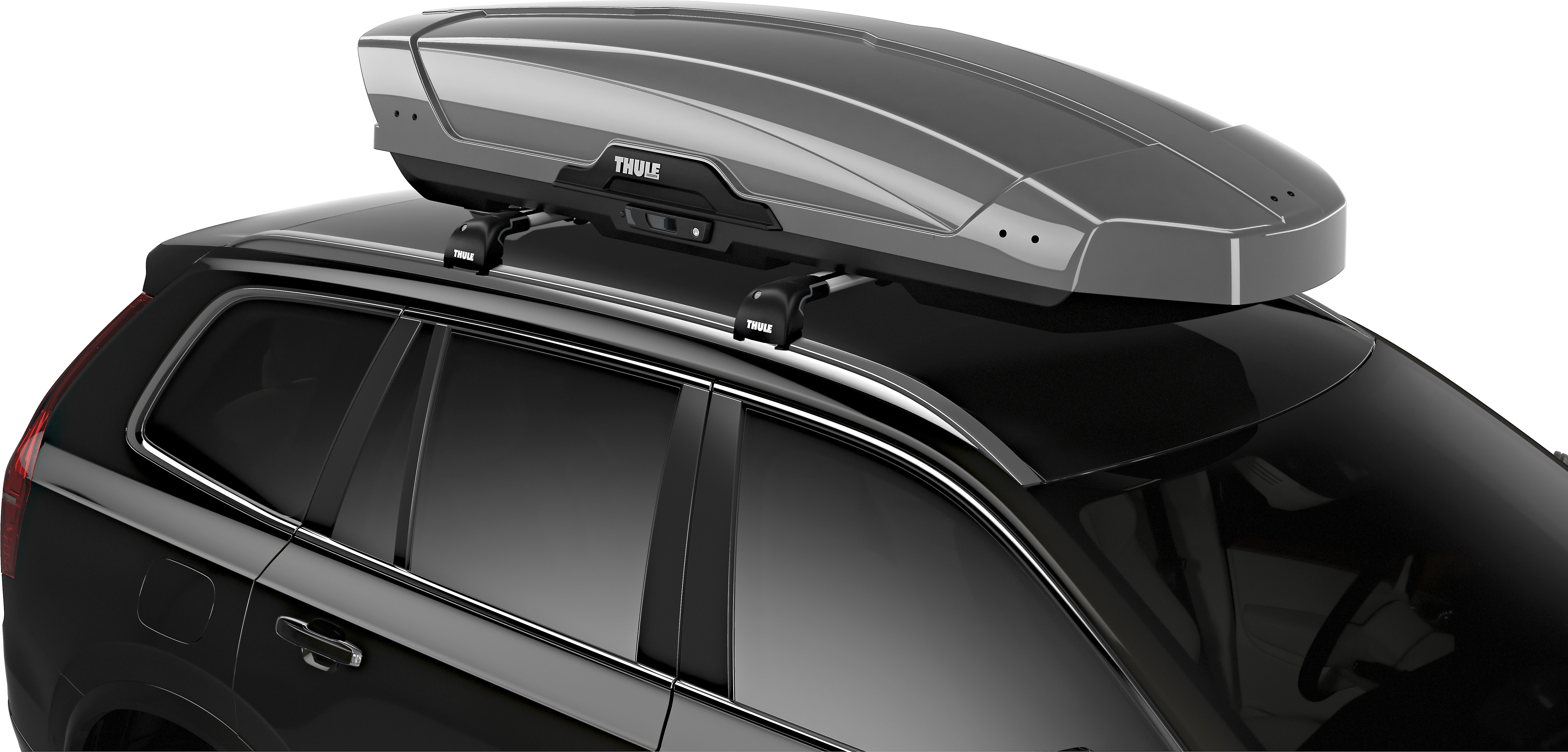 Thule Motion Xt Rooftop Cargo Carrier Xl Titan Glossy Available In 4 Sizes And 3 Colors At Crutchfield
