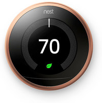 Nest Learning Thermostat 3rd Generation- Copper