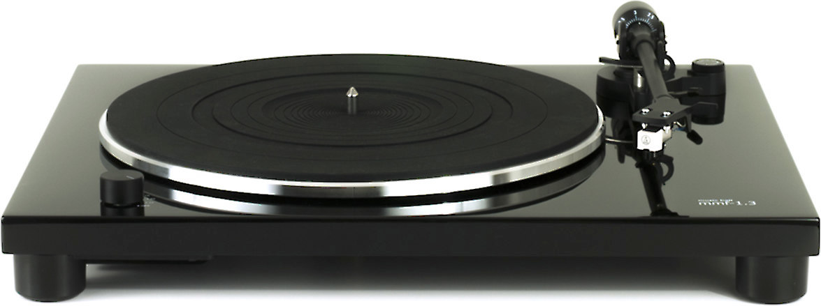 Music Hall MMF 1.3 Manual belt drive turntable with built in phono preamp at Crutchfield