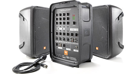 jbl eon one powered pa speaker array with 6 channel mixer at. Black Bedroom Furniture Sets. Home Design Ideas