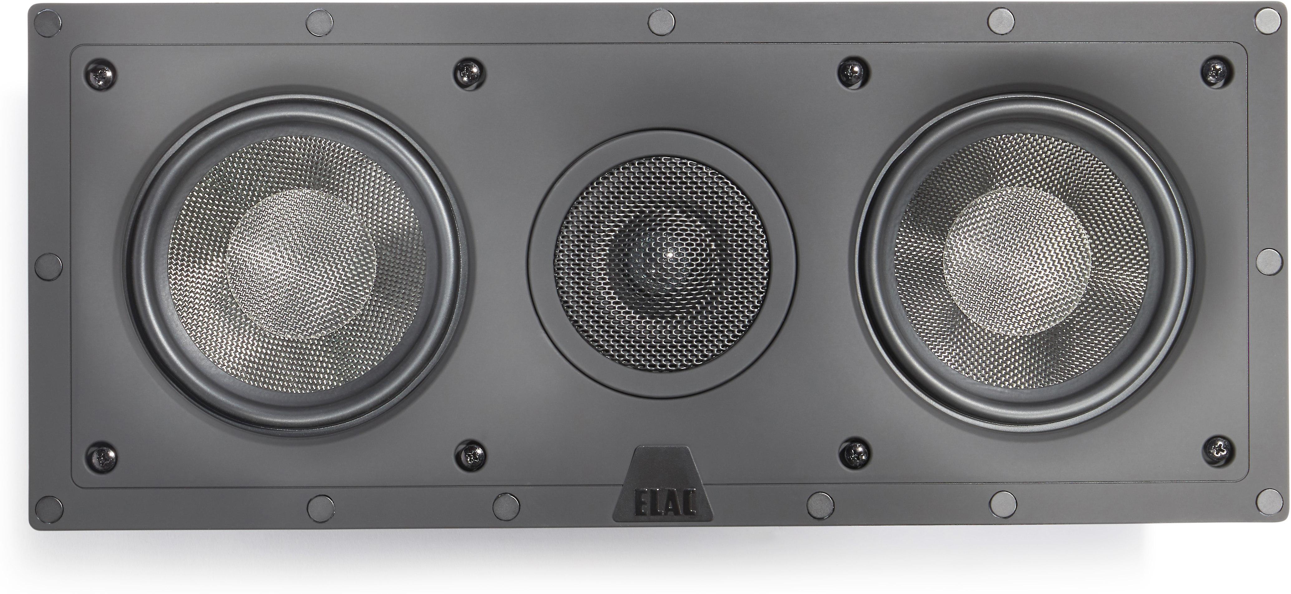 """Revel 8"""" white Square zero-bezel magnetic Grille for In-Ceiling Speaker 10.7"""""""