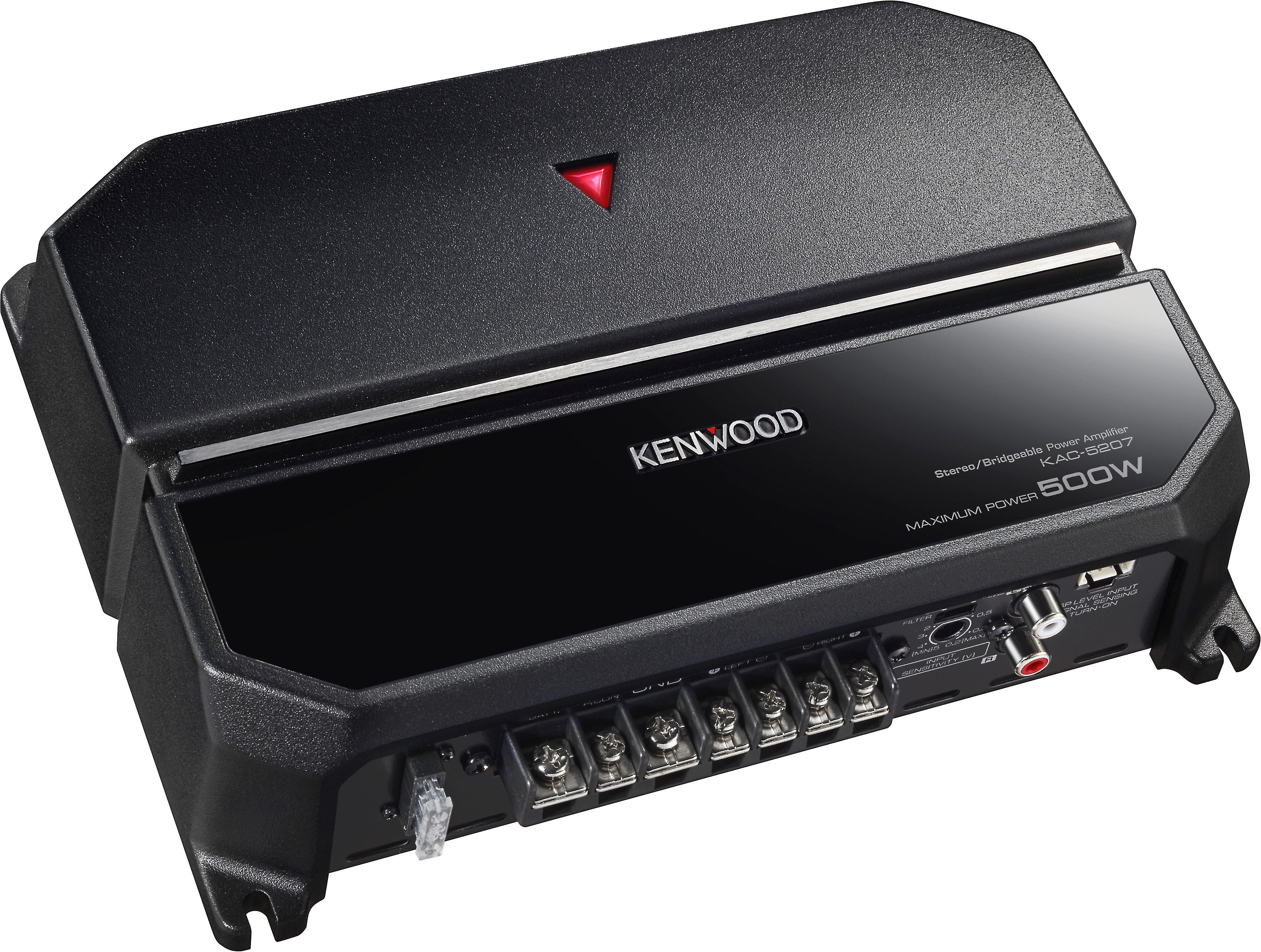 Hook up kenwood amp