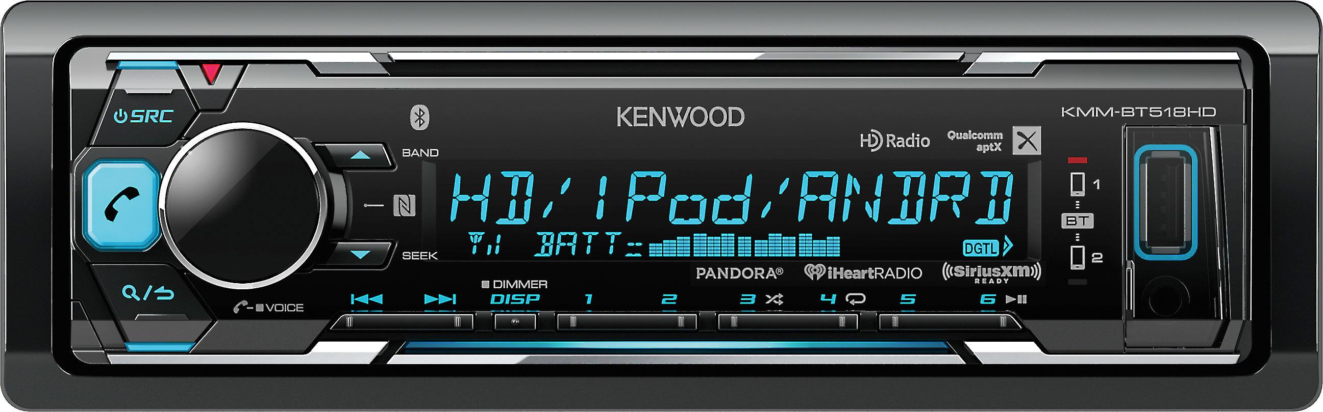 Kenwood KMM-BT518HD on