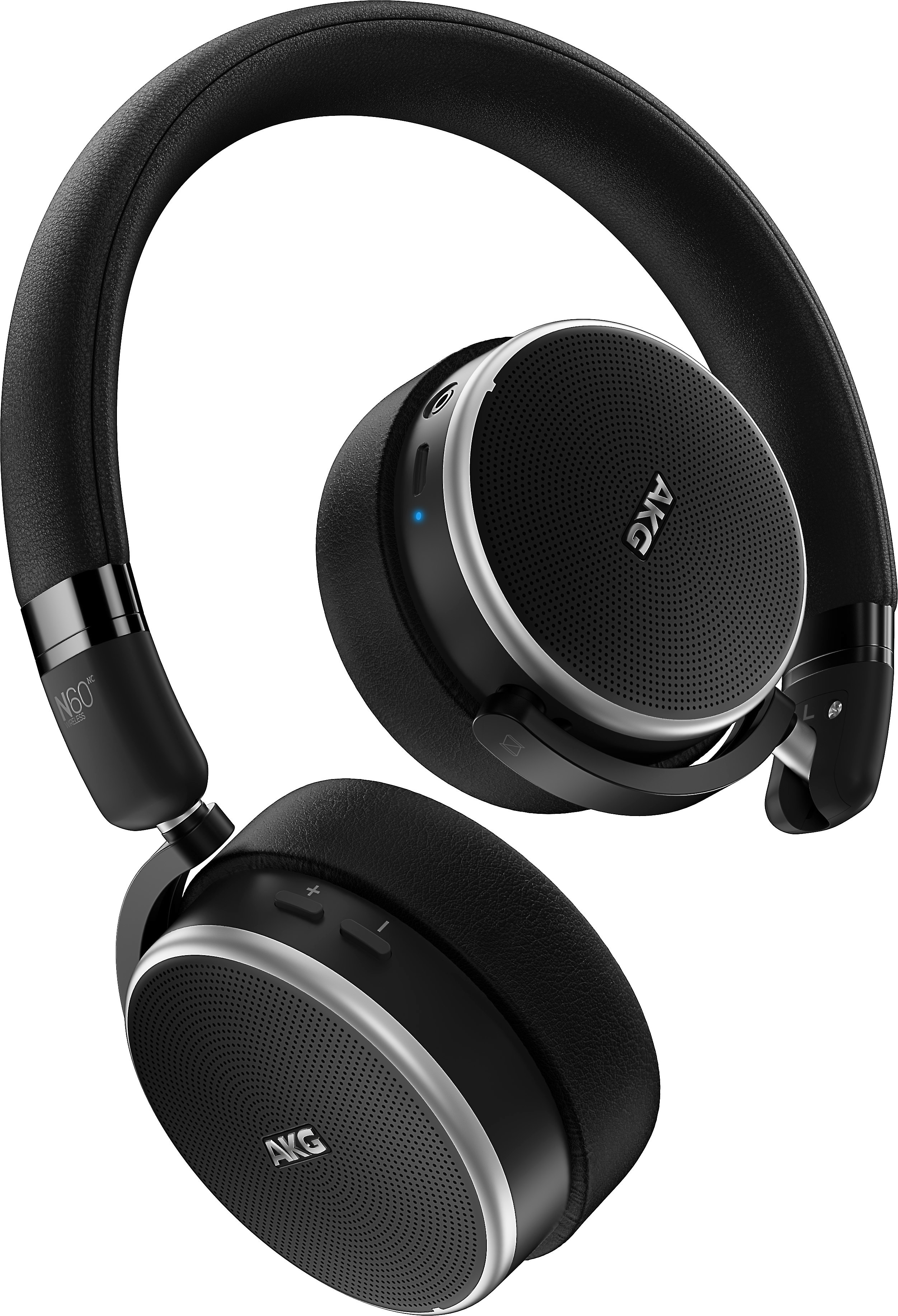 c32f0edf09b AKG N60NC Wireless On-ear Bluetooth® headphones with active noise  cancellation at Crutchfield.com