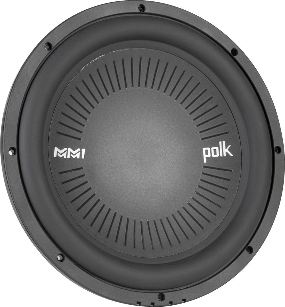 Polk Audio Mm 1242 Dvc Mm1 Series 12 Subwoofer With Dual 4 Ohm Headphone Cable Wiring Diagram Voice Coils At