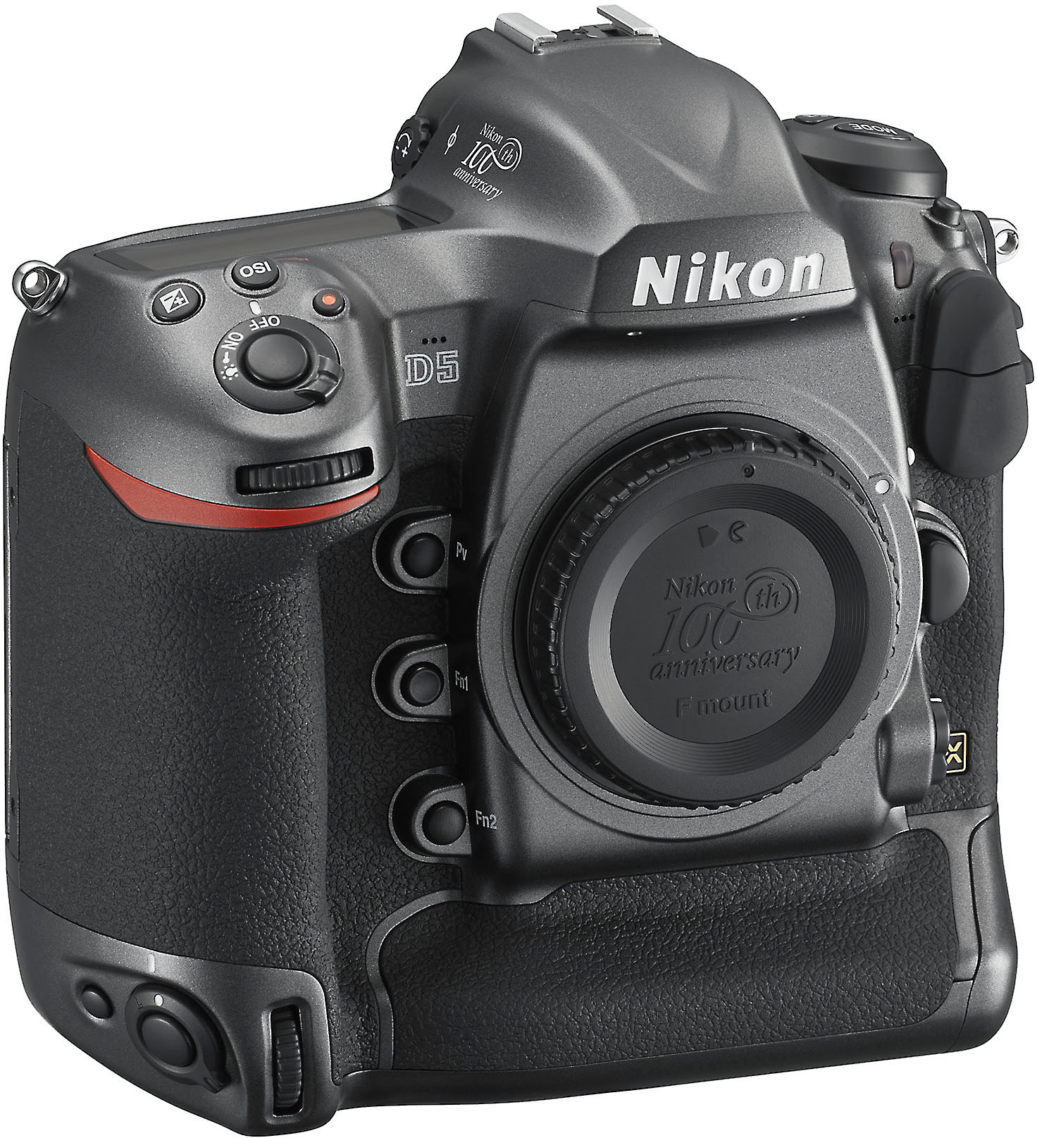 Nikon D5 100th Anniversary Edition (no lens included) 20 8-megapixel