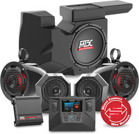 Mtx Audio RZRSYSTEM3  Receiver, Amps, Sub, Front and Rear