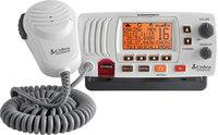 Cobra MR F57W  Marine VHF Radio With Rewind  - White