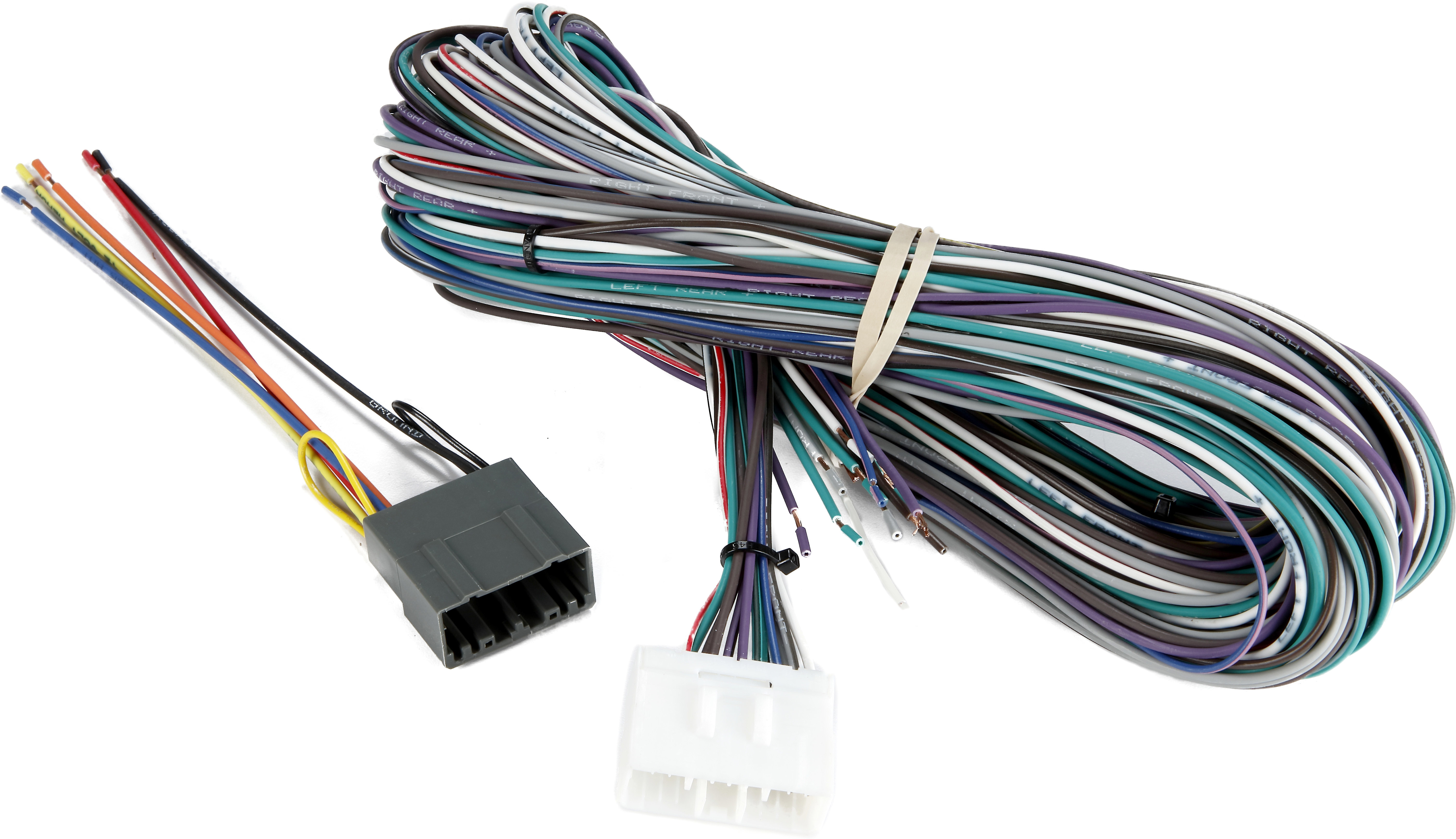 Incredible Metra 70 6506 Amp Bypass Harness Allows You To Connect A New Car Wiring Database Plangelartorg