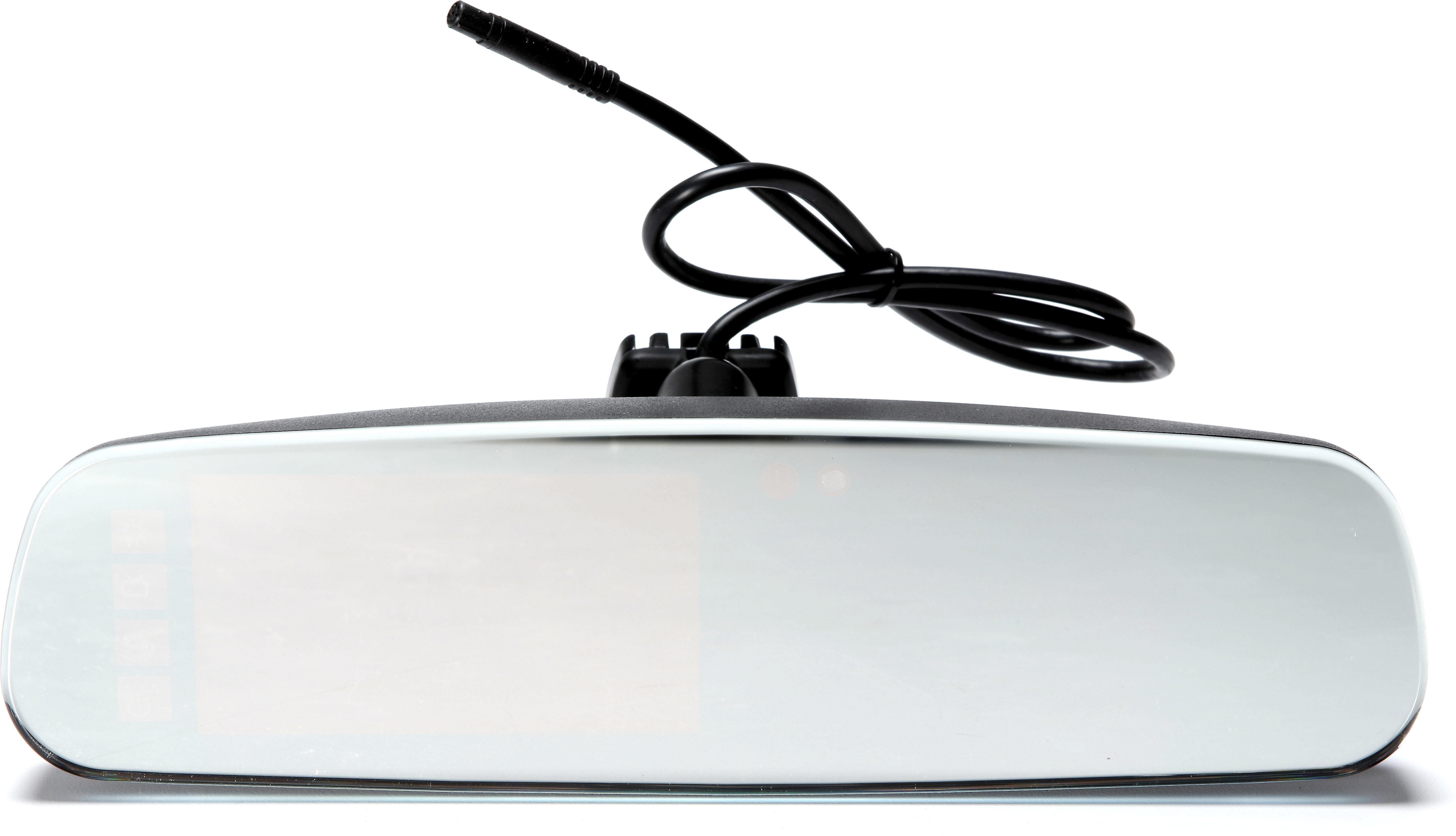 "BOYO VTM43FL Frameless Replacement Rear View Mirror 4.3/"" Screen w// Parking Lines"