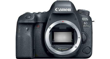 Canon EOS 6D Mark II (no lens included)