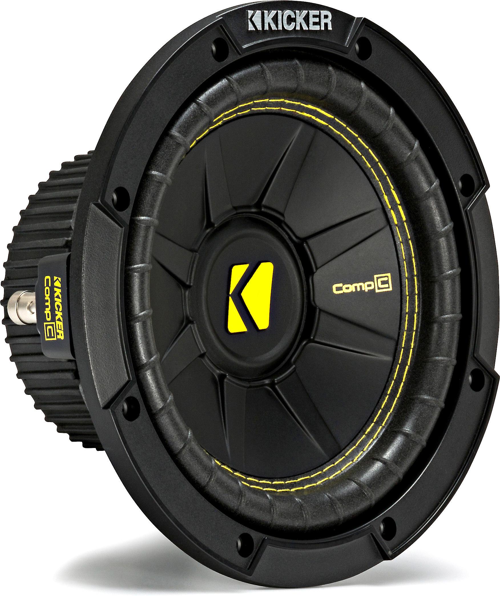 "KICKER 44CWCS84 COMP C SERIES 8/"" 4 OHM SUBWOOFER"