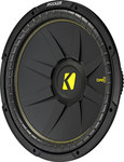 """Kicker CompC 44CWCD154  15"""" Dual 4-ohm Component Subwoofer"""