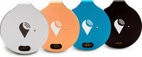 TrackR bravo 4 Pack 4 Colors- Black, Silver, Blue and Ros...